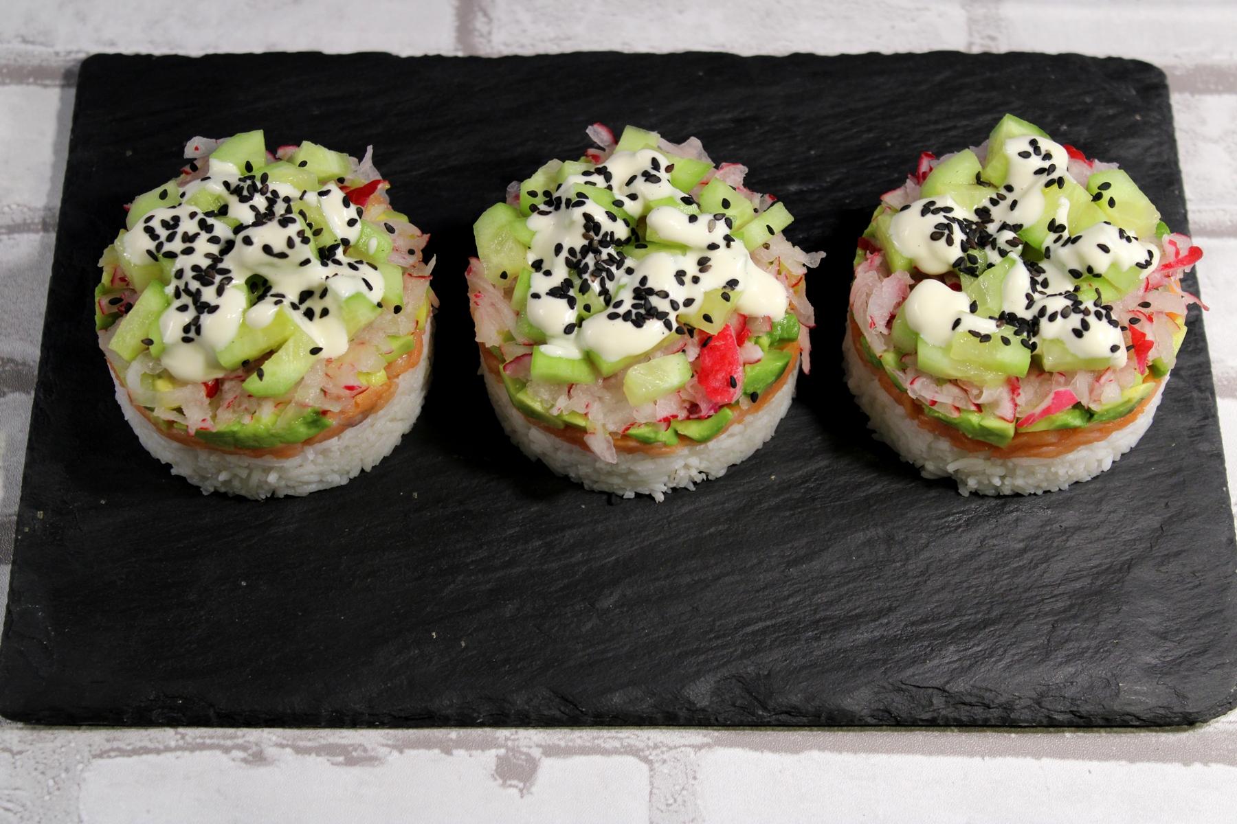 Sałatka sushi