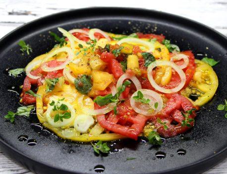 Carpaccio z pomidorów