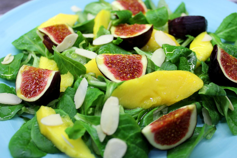 Sałatka z figami i mango