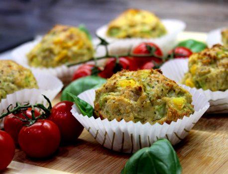 Muffiny mięsno-warzywne