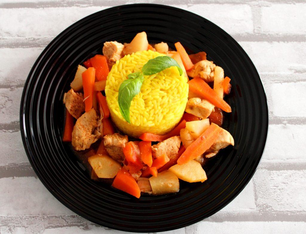 Kurczak słodko - kwaśny