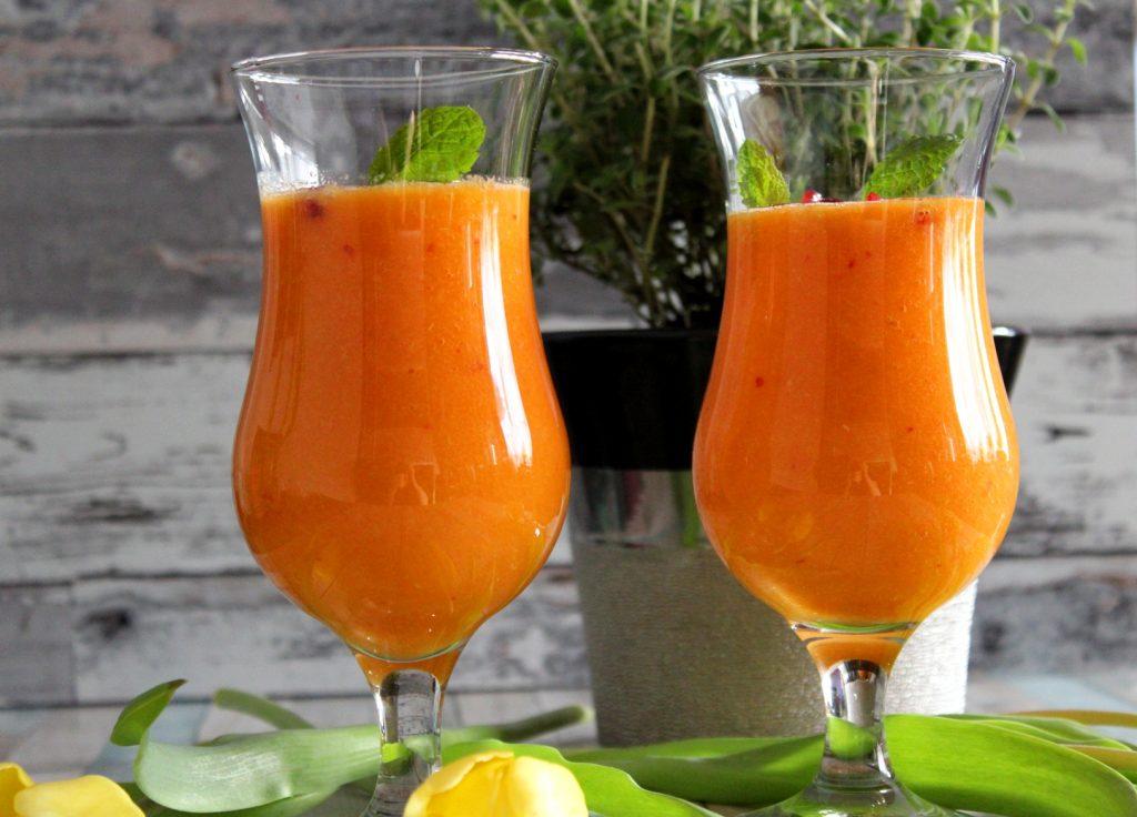 Smoothie pomarańczowe