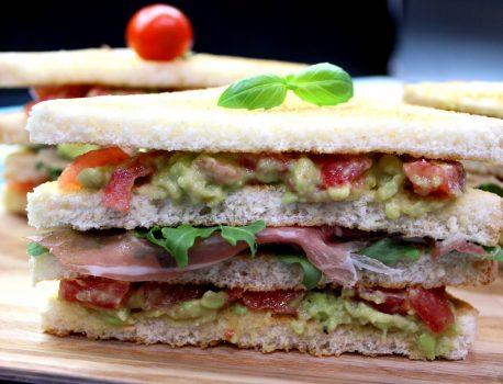 Sandwich z guacamole