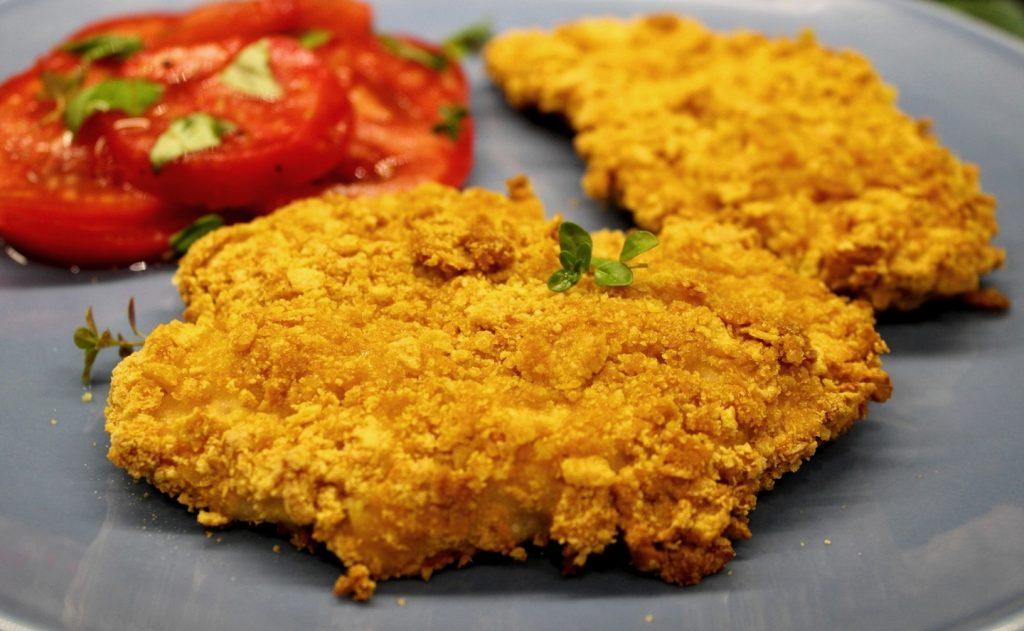 Filety w płatkach kukurydzianych