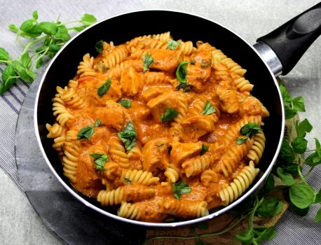 Makaron w sosie z mascarpone
