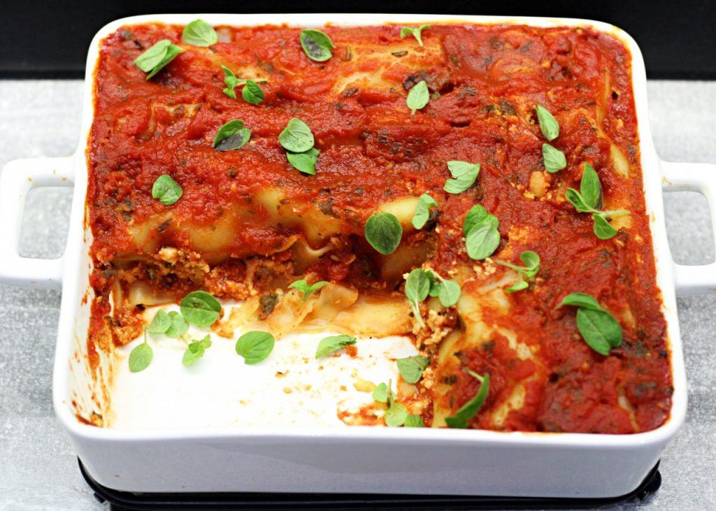 Cannelloni z mięsem i cukinią