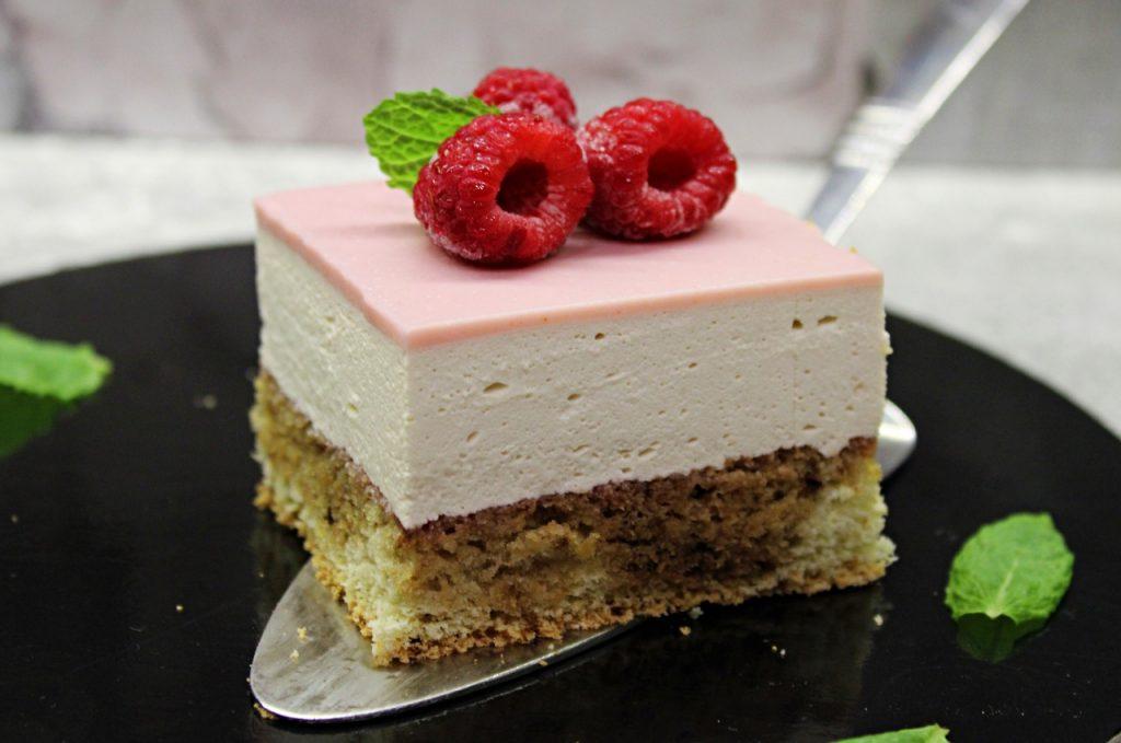 Ciasto kawowo - malinowe