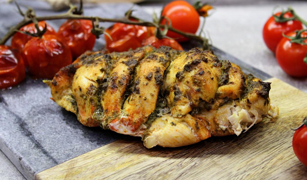 Kurczak z pesto