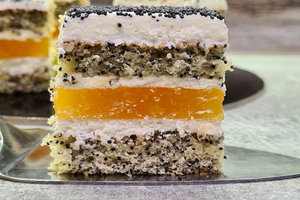 ciasto makowo pomarańczowe