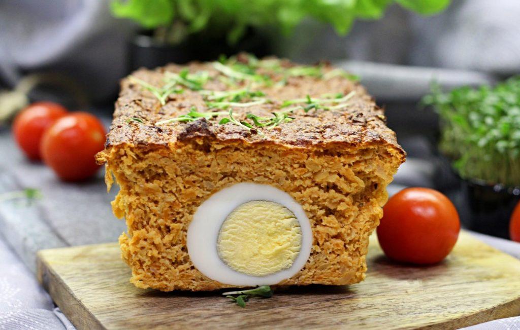 Pasztet z soczewicą i jajkiem