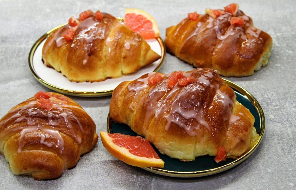 rogaliki pomarańczowe
